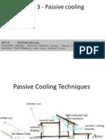 Unit 3 Xx Passive Cooling