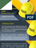 Civil Engineering Law 101