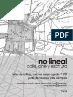 Afiche No Lineal