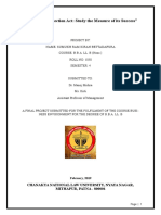 Business Environment Project on Consumer Protection Act