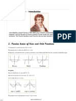 Fourier Series Formulas in PDF