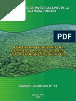 1 Evaluación Económica Forestación
