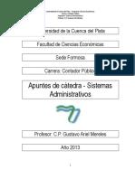 Apuntes de catedra Sistemas Administrativos 2013.pdf