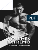 Volumen Extremo - The ultimate bulking plan