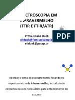 Espectroscopia de Infravermelho IR