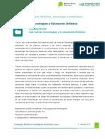 David, Anabella - Las Nuevas Tecnologías y La Educación Artística