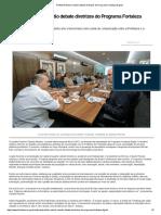 Prefeito Roberto Cláudio Debate Diretrizes Do Programa Fortaleza Digital