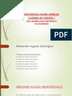 Abdomen Agudo Hemorragico