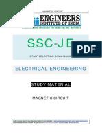 SSC JE Study Materials Magnetic Circuits EMFT