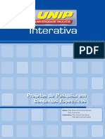 Projetos de Pesquisa Em Contextos Específicos_Un
