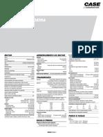 APC Retroescavadeira Case 580N Especificacoes Tecnicas
