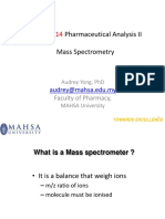 MPHA4214 Pharmaceutical Analysis II B7 S5 MS