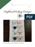 Heart Stitch Marker