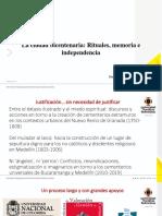 """Memorias conferencia """"La ciudad bicentenaria"""