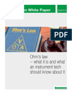 Ohms Law for I&C -Beamex