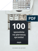eBook 100 Sposobow eBook Shoplo