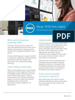 Wyse 7020 Thin Client DS
