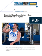 Boost Your Gains With Beta-Alanine_ 5 Things You Need to Know