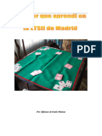 El Poker Que Aprendí en La ETSII de Madrid Ed-2