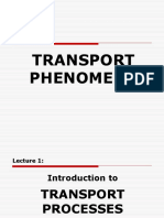 01 Introduction to Transport Processes