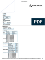 Frame Analysis Report Cisterna
