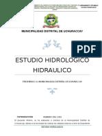 1.-Est Hidrologico - Hidraulico