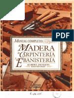 Manual Completo de La Madera La Carpinteria y La Ebanisteria