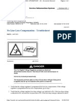 No Line Loss Compensation - Troubleshoot