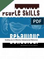 Bill Sultmann - People Skills_ Guiding You to Effective Interpersonal Behaviour-Australian Academic Press (2003)