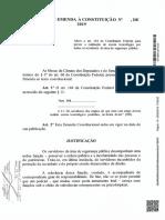 Proposta de Emenda à Constituição - SF192910571547