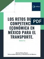 Competencia Económica en México.