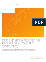 Carv a Th Digitized Securities White Paper