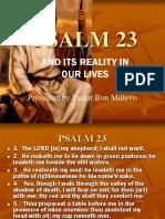 Psalm 23 Realization