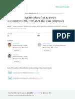 TerminologiaAnatomicaafter17years-Inconsistenciesmistakesandnewproposals AA 2015