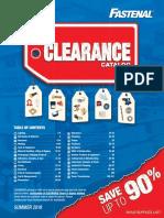 2019 Clearance Catalog