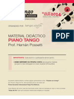 Piano tango