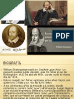Presentación William Shakespeare