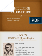 Philippine Literature in Different Regions