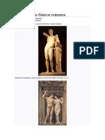 Arte y Cultura Clásicos Romanos