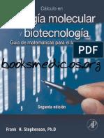 Calculo en Biología Molecular y Biotecnología