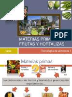 1. Frutas y Hortalizas - Introducción 2014