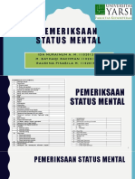 status mental