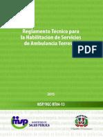 03 RT Ambulancias Terrestres