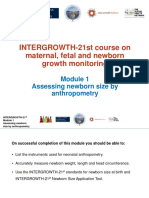 Intergrowth 21st Module1 Assessing Newborn Size by Anthropometry 2016