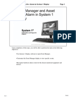T00021 Event Manager Asset Active Alarm System 1 Display