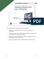 T00112 Understanding Startup and Shutdown Transients