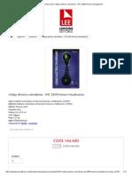 Código Eléctrico Colombiano – NTC 2050 Primera Actualización