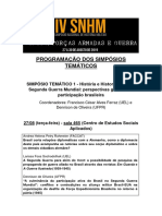 simposios SNHM 2019