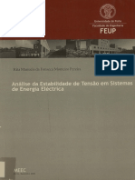 Analise Da Estabilidade de Tesnsão Em Sistemas de Potencia