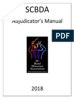 2018 Adjudicators Handbook